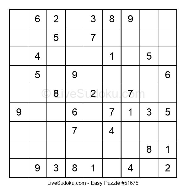 Beginners Puzzle #51675