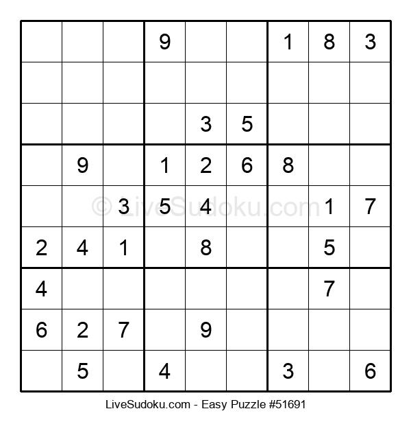 Beginners Puzzle #51691