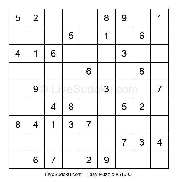 Beginners Puzzle #51693