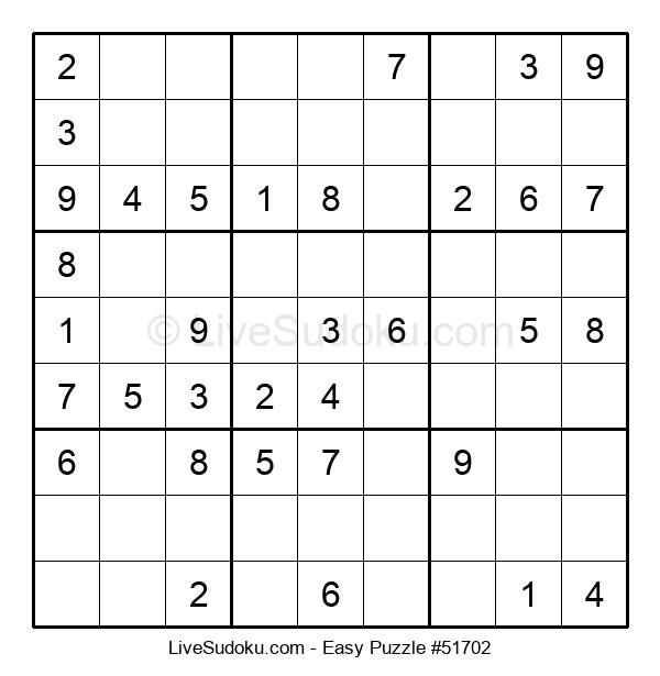 Beginners Puzzle #51702