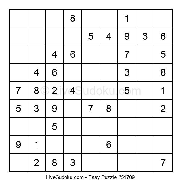 Beginners Puzzle #51709