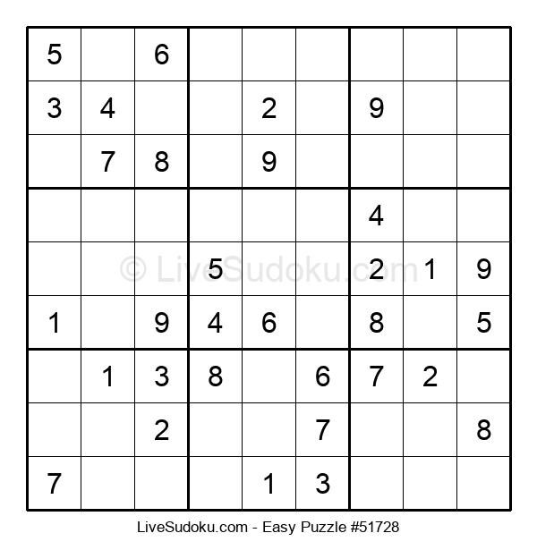 Beginners Puzzle #51728
