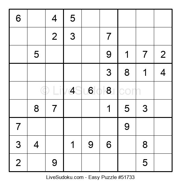 Beginners Puzzle #51733