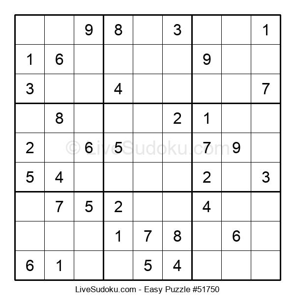 Beginners Puzzle #51750