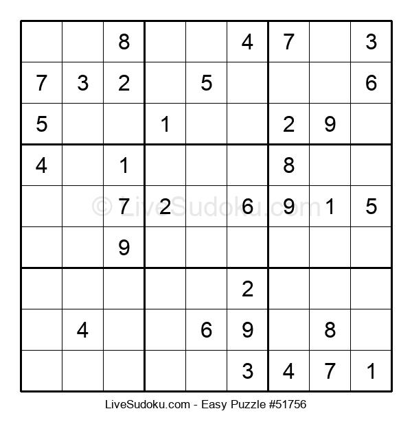 Beginners Puzzle #51756