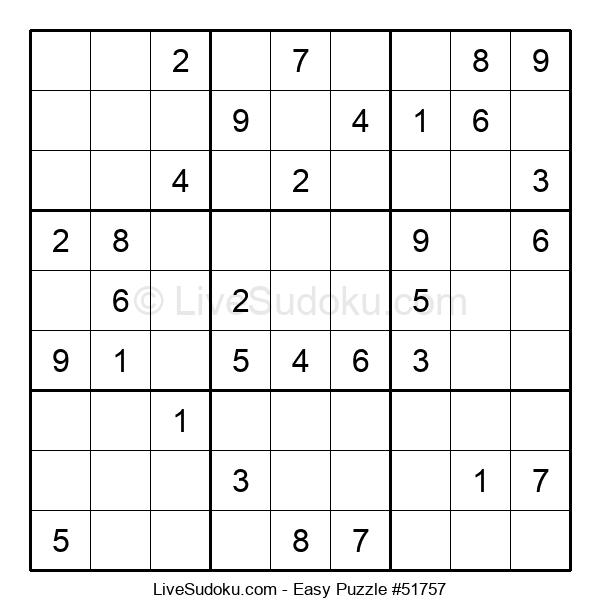 Beginners Puzzle #51757