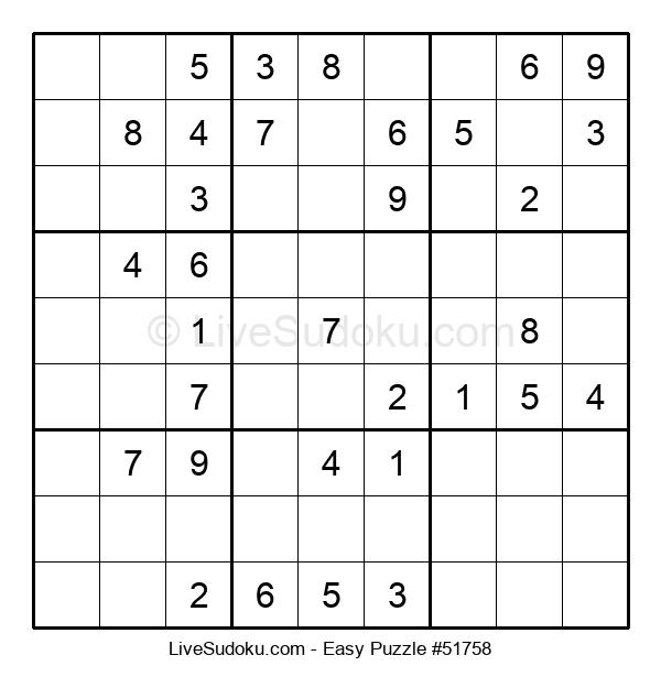 Beginners Puzzle #51758