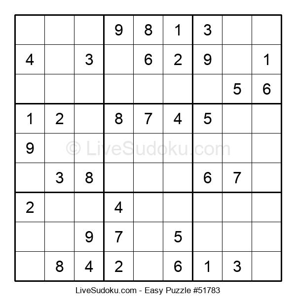 Beginners Puzzle #51783
