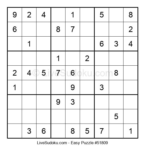 Beginners Puzzle #51809