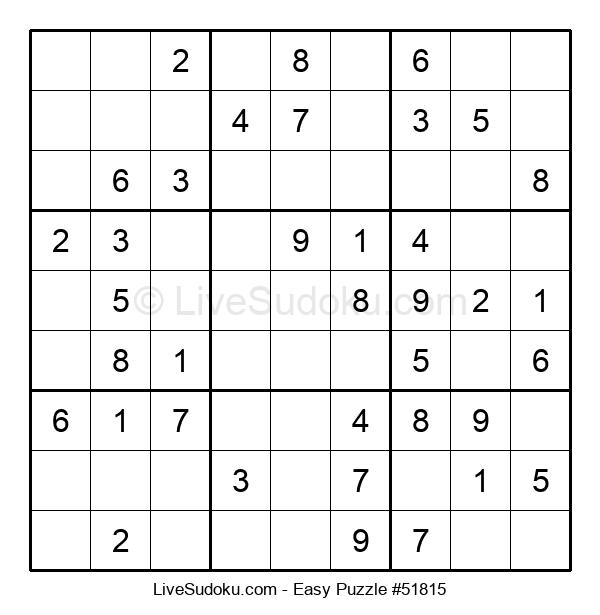 Beginners Puzzle #51815