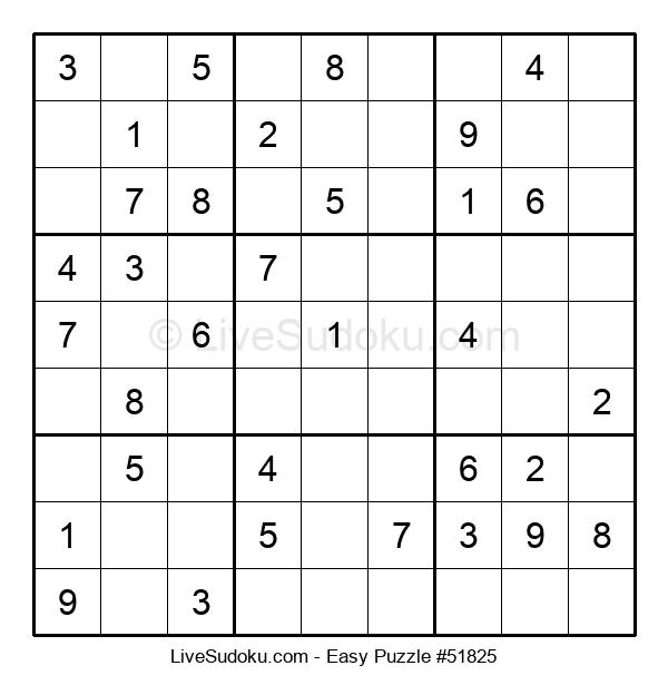 Beginners Puzzle #51825