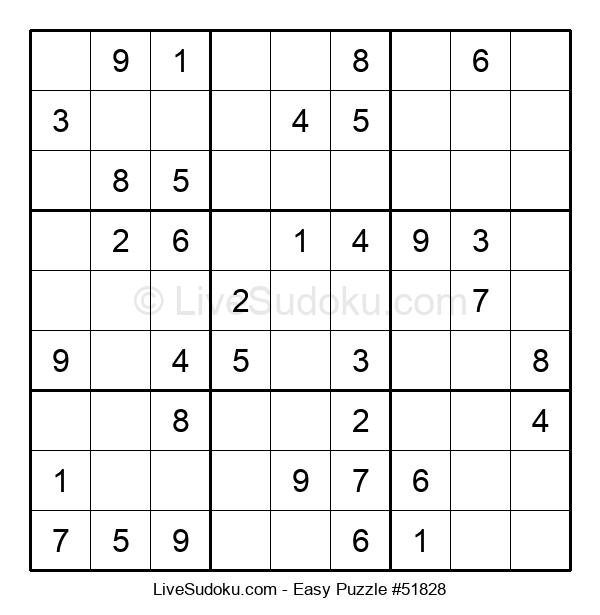 Beginners Puzzle #51828