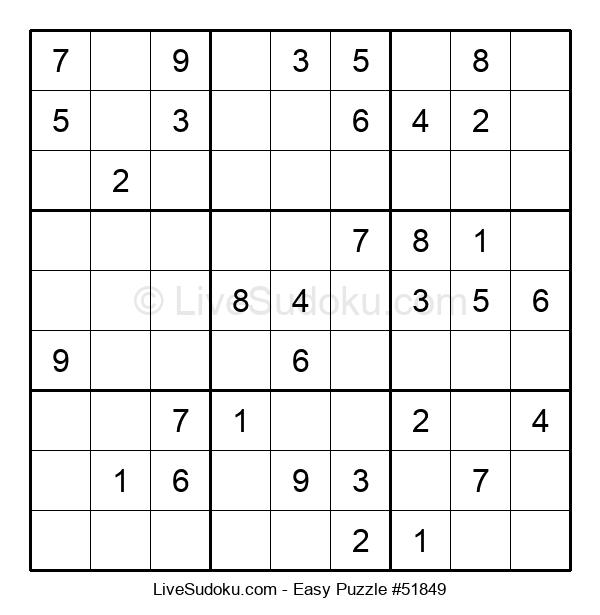Beginners Puzzle #51849