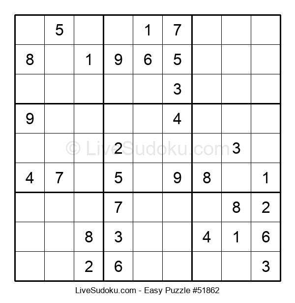 Beginners Puzzle #51862