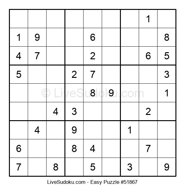 Beginners Puzzle #51867
