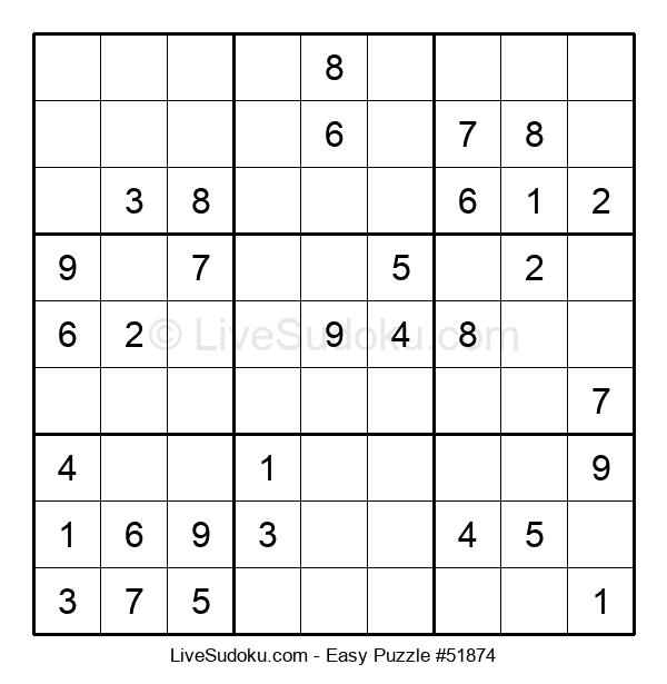 Beginners Puzzle #51874