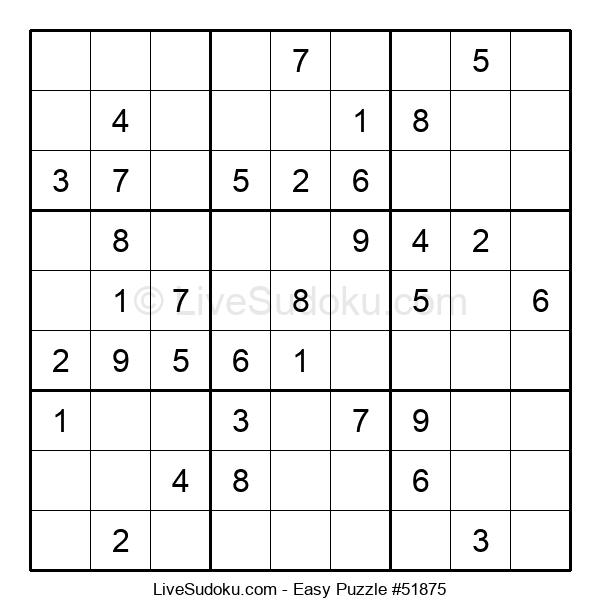 Beginners Puzzle #51875