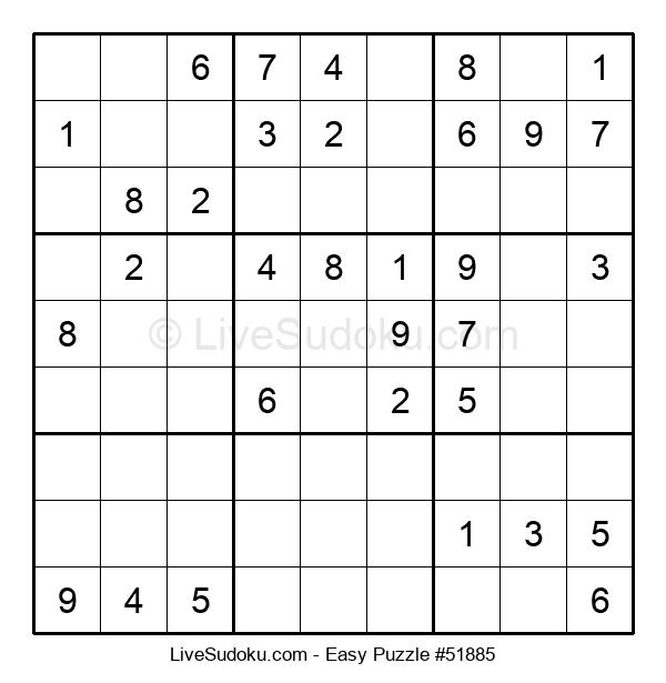 Beginners Puzzle #51885