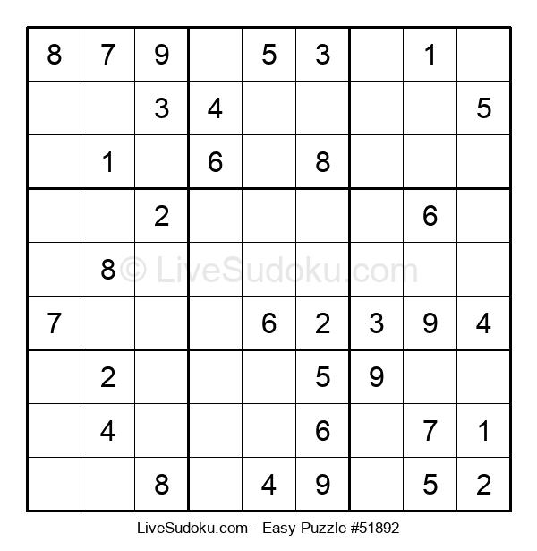 Beginners Puzzle #51892