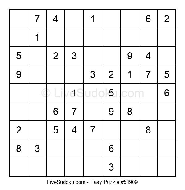 Beginners Puzzle #51909