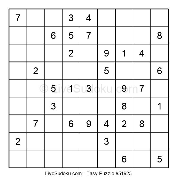 Beginners Puzzle #51923