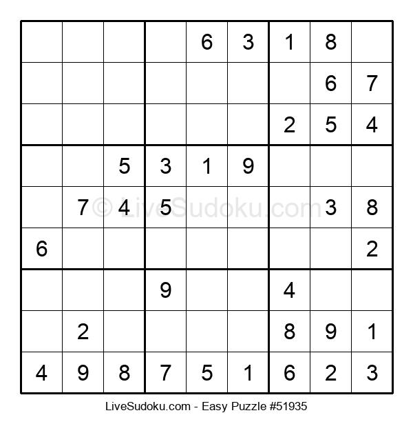 Beginners Puzzle #51935