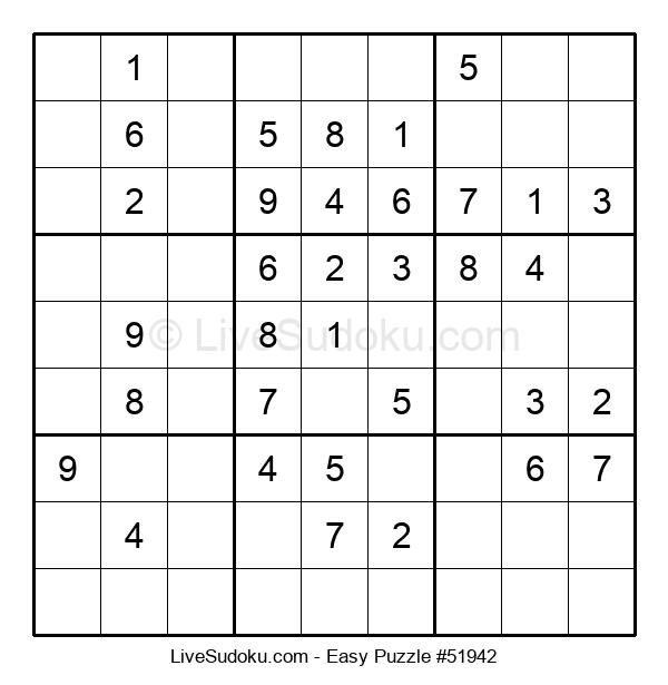 Beginners Puzzle #51942