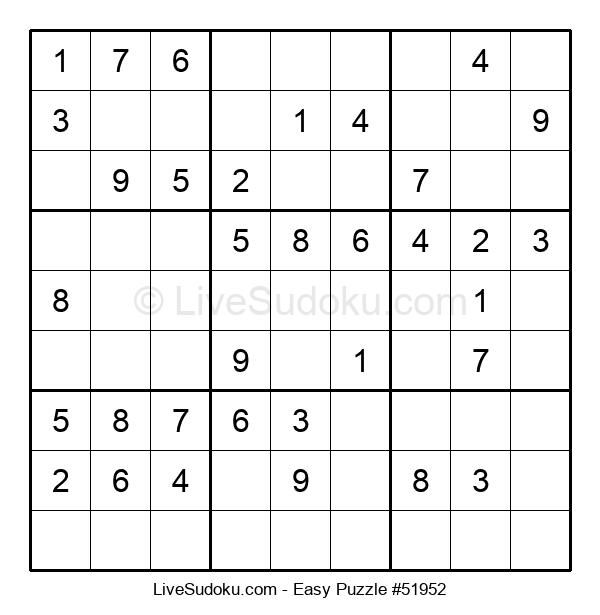 Beginners Puzzle #51952