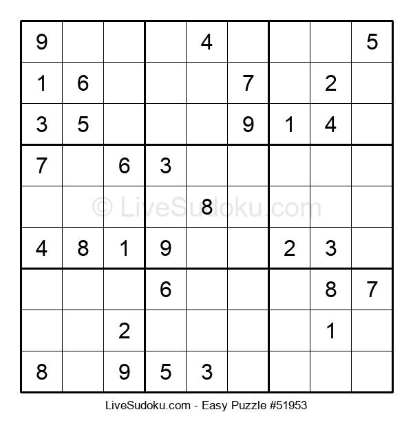 Beginners Puzzle #51953