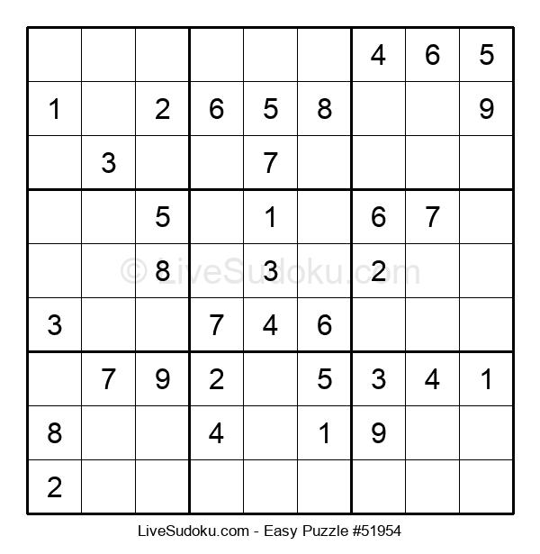 Beginners Puzzle #51954