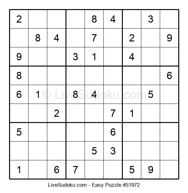 Beginners Puzzle #51972