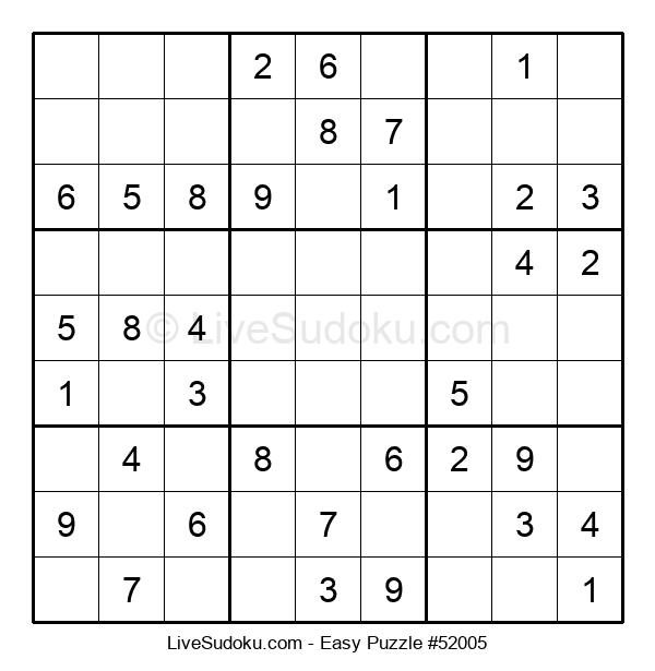 Beginners Puzzle #52005