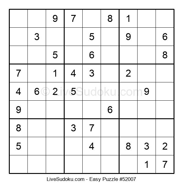 Beginners Puzzle #52007