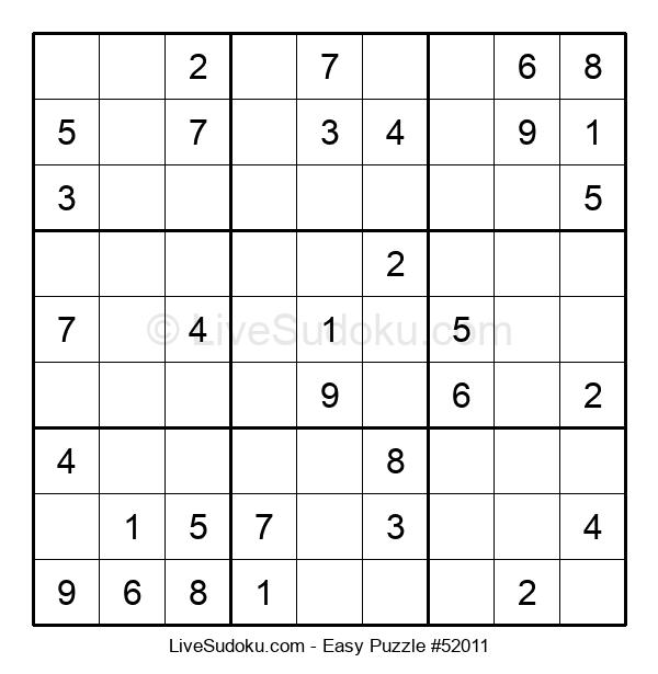 Beginners Puzzle #52011