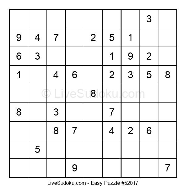Beginners Puzzle #52017