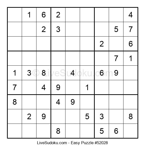 Beginners Puzzle #52028