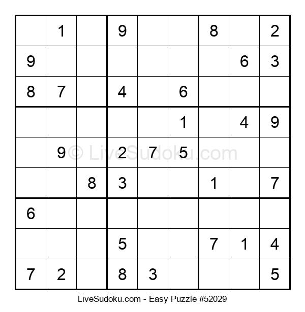 Beginners Puzzle #52029