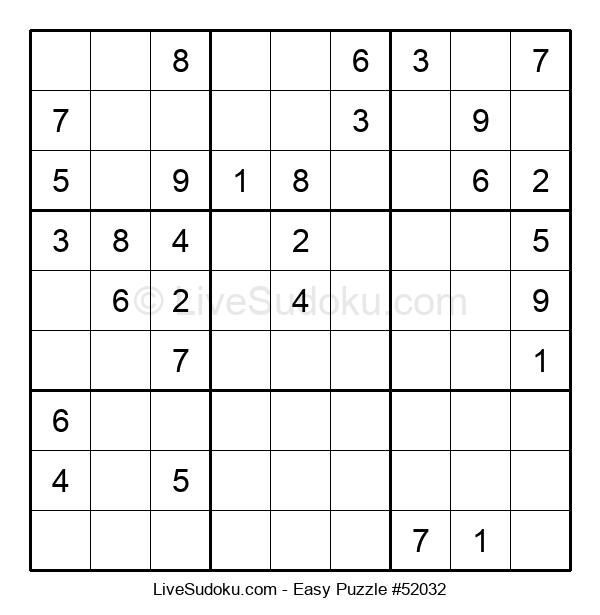 Beginners Puzzle #52032