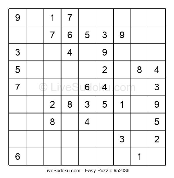 Beginners Puzzle #52036