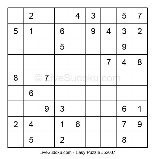 Beginners Puzzle #52037