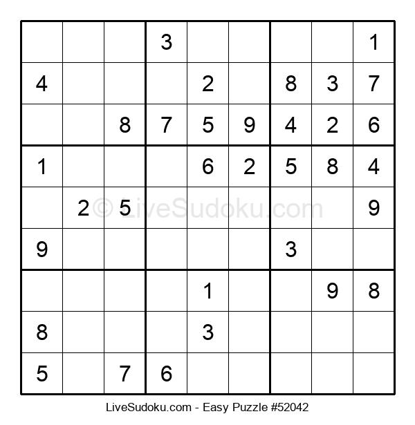 Beginners Puzzle #52042