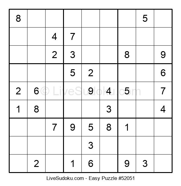 Beginners Puzzle #52051