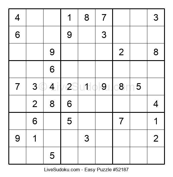 Beginners Puzzle #52187