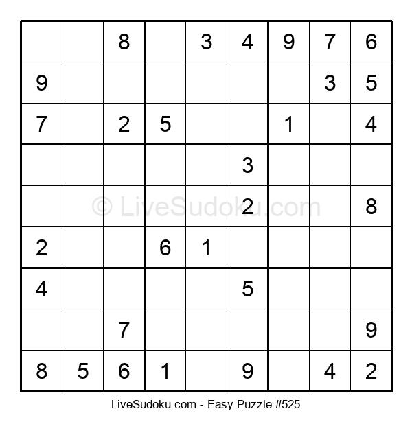 Beginners Puzzle #525