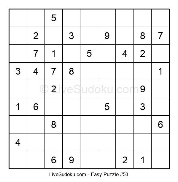 Beginners Puzzle #53