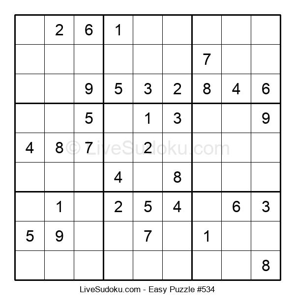 Beginners Puzzle #534