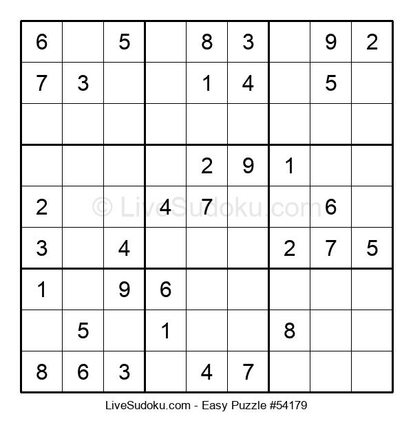 Beginners Puzzle #54179
