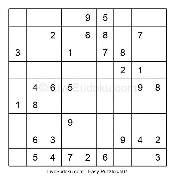 Beginners Puzzle #567