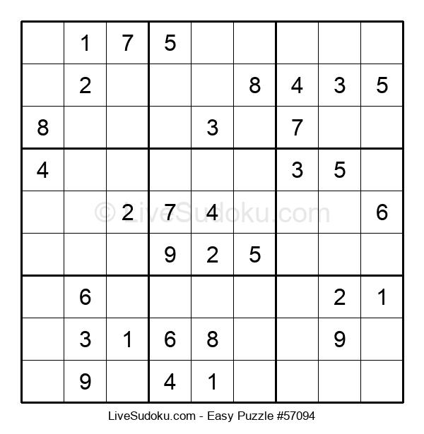 Beginners Puzzle #57094