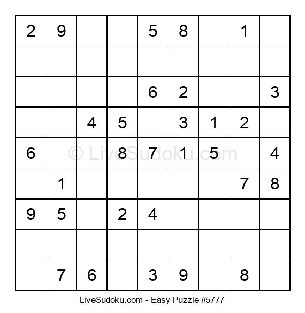 Beginners Puzzle #5777